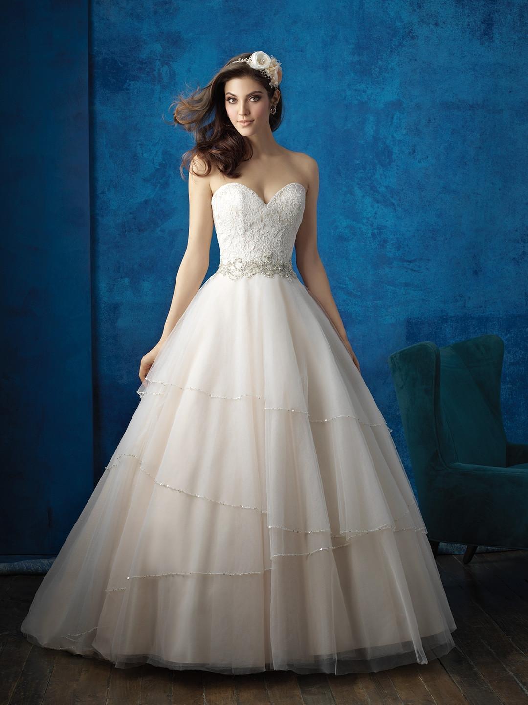 Wedding Dresses By Allure Bridals 9351 Weddingwire Ca
