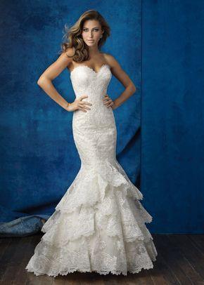 9358, Allure Bridals