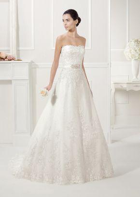 White by Vera Wang Style VW351077, David's Bridal