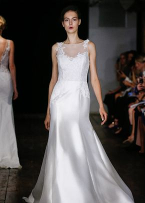 White by Vera Wang Style VW351178, David's Bridal