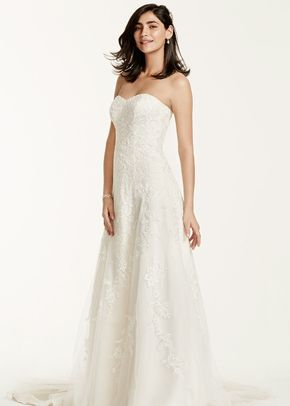 David's Bridal Collection Style V3587, David's Bridal