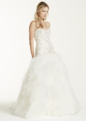 David's Bridal Collection Style V3665, David's Bridal