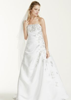 David's Bridal Collection Style V9665, David's Bridal