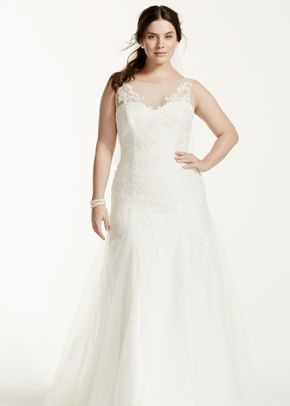 David's Bridal Woman Style 9MK3718, David's Bridal