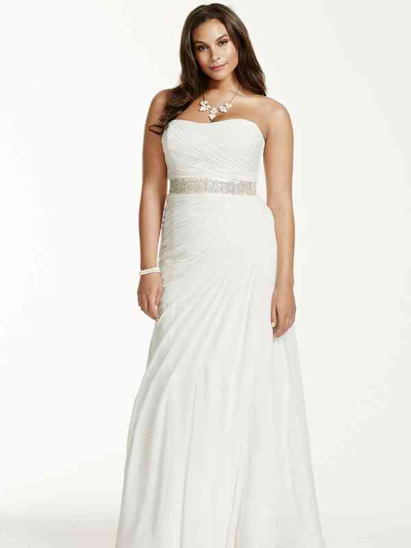 David's Bridal Woman Style 9V3540, David's Bridal