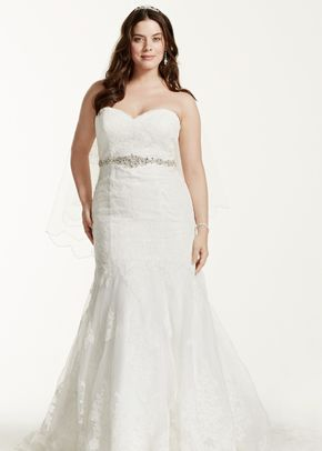 David's Bridal Woman Style 9V3680	, David's Bridal