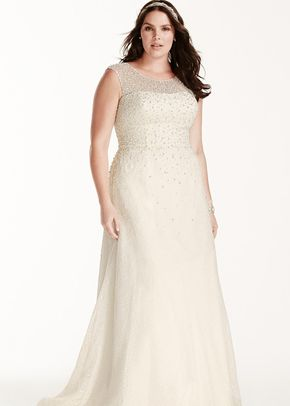 David's Bridal Woman Style 9V3763, David's Bridal