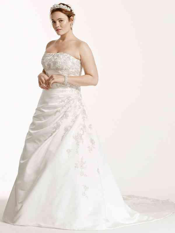 David's Bridal Woman Style 9V9665, David's Bridal