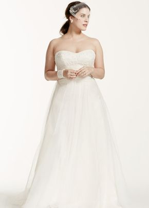 David's Bridal Woman Style 9WG3586, David's Bridal