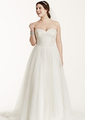 David's Bridal Woman Style 9WG3633, David's Bridal