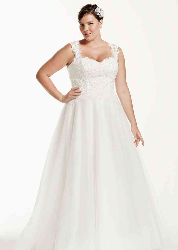 David's Bridal Woman Style 9WG3671, David's Bridal