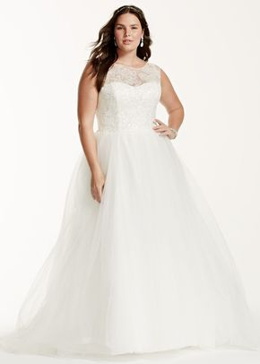 David's Bridal Woman Style 9WG3672, David's Bridal