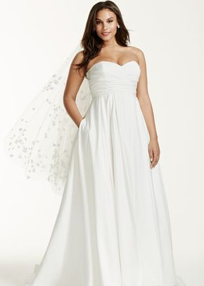 David's Bridal Woman Style 9WG3707, David's Bridal