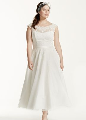 David's Bridal Woman Style 9WG3721, David's Bridal
