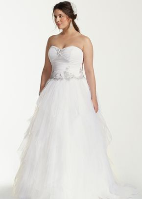 David's Bridal Woman Style 9WG3722, David's Bridal