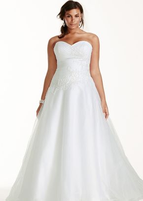 David's Bridal Woman Style 9WG3740, David's Bridal