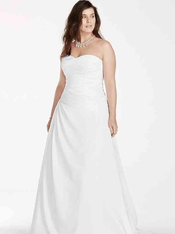 David's Bridal Woman Style 9WG3743, David's Bridal