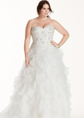 David's Bridal Woman Style 9WG3752, David's Bridal