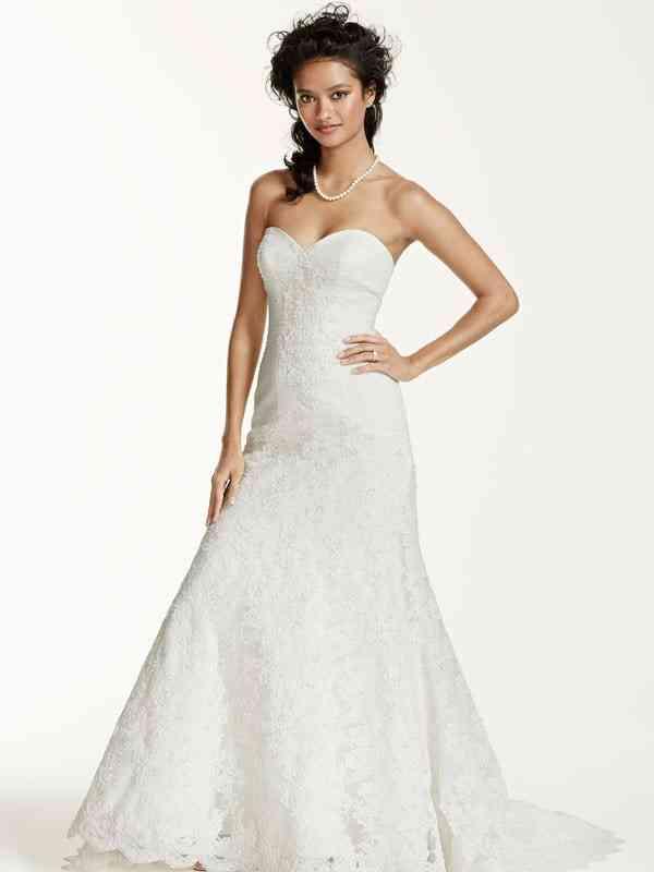 Oleg Cassini Style CRL277, David's Bridal