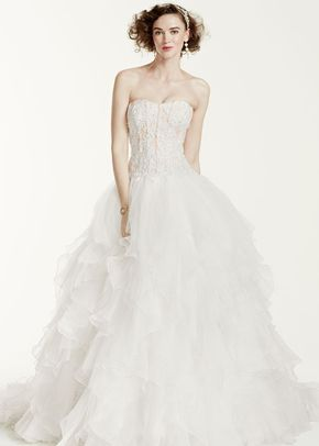 Oleg Cassini Style CWG568	, David's Bridal