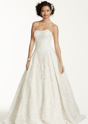 Oleg Cassini Style CWG635	, David's Bridal