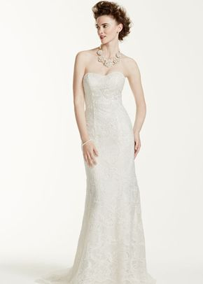 Oleg Cassini Style CWG641	, David's Bridal