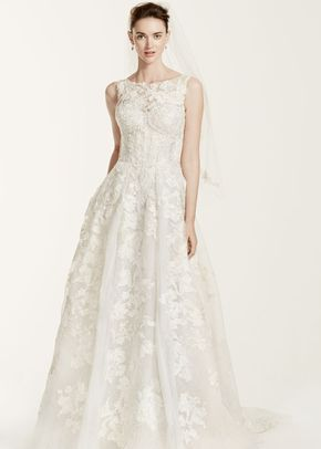 Oleg Cassini Style CWG658	, David's Bridal