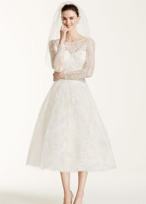 Oleg Cassini Style CWG663	, David's Bridal