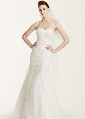 Oleg Cassini Style CWG668	, David's Bridal