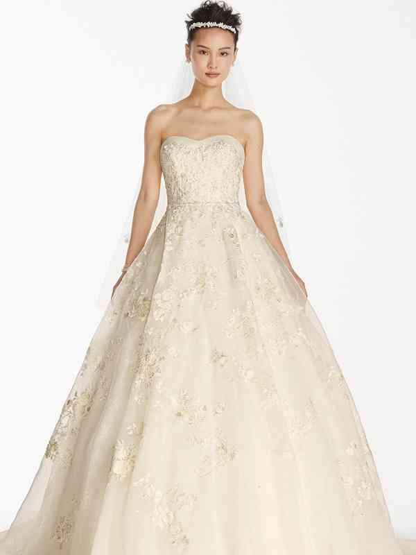 Oleg Cassini Style CWG700, David's Bridal