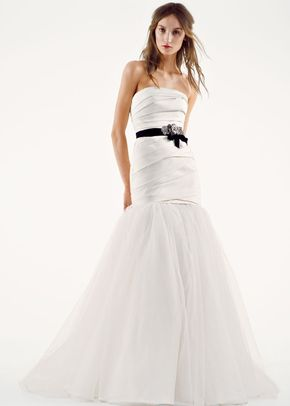 White by Vera Wang Style VW351169, David's Bridal