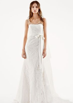White by Vera Wang Style VW351227, David's Bridal