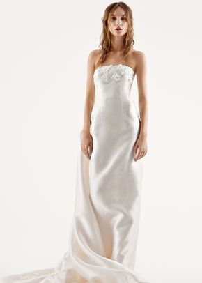 White by Vera Wang Style VW351261, David's Bridal