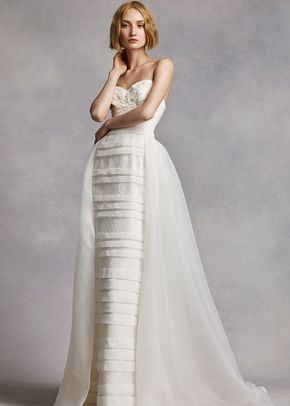 White by Vera Wang Style VW351268, David's Bridal