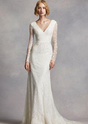 White by Vera Wang Style VW351270, David's Bridal