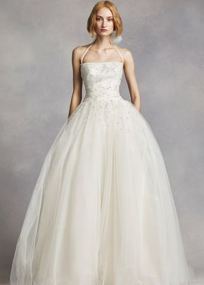 White by Vera Wang Style VW351277, David's Bridal