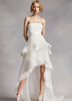 White by Vera Wang Style VW351281, David's Bridal
