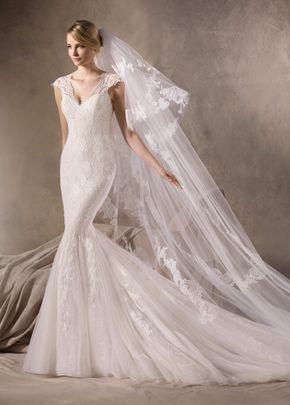 Jewel Style V3761, David's Bridal