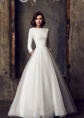 Style 2308, Mikaella Bridal