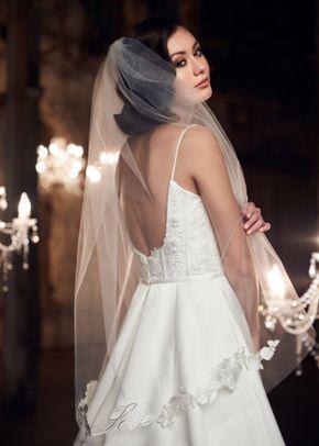 Style VM490F, Mikaella Bridal