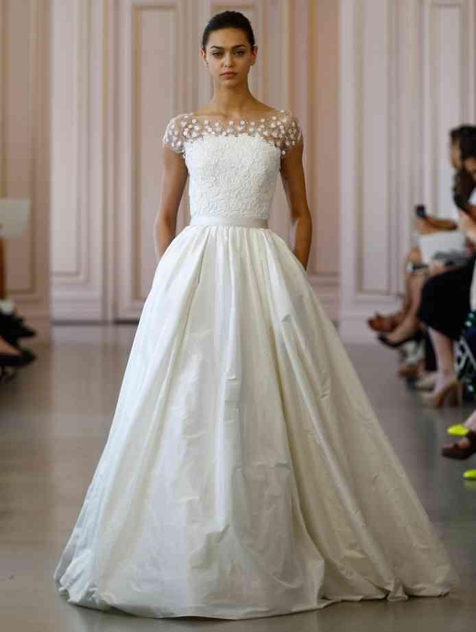Wedding Dresses By Oscar De La Renta 2016 Weddingwire Ca