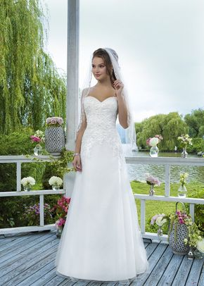 6096, Sweetheart Gowns