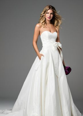 David's Bridal Woman Style 9WG3741, David's Bridal