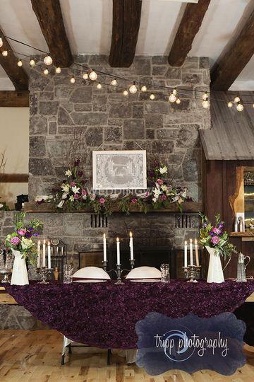 All decor arranged