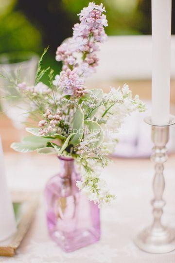 Lilac inspiration shoot