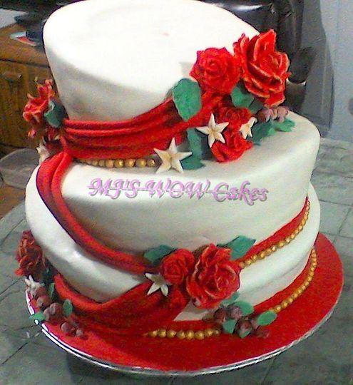 Winter/new years wedding