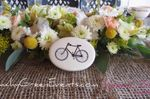 Floral Garland and Bike