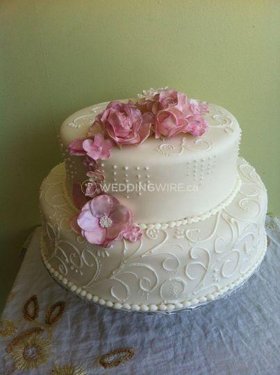 pink scrol wedding.JPG