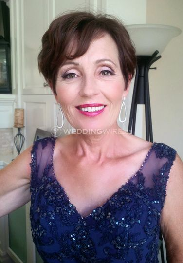 Makeup for mother of the bride