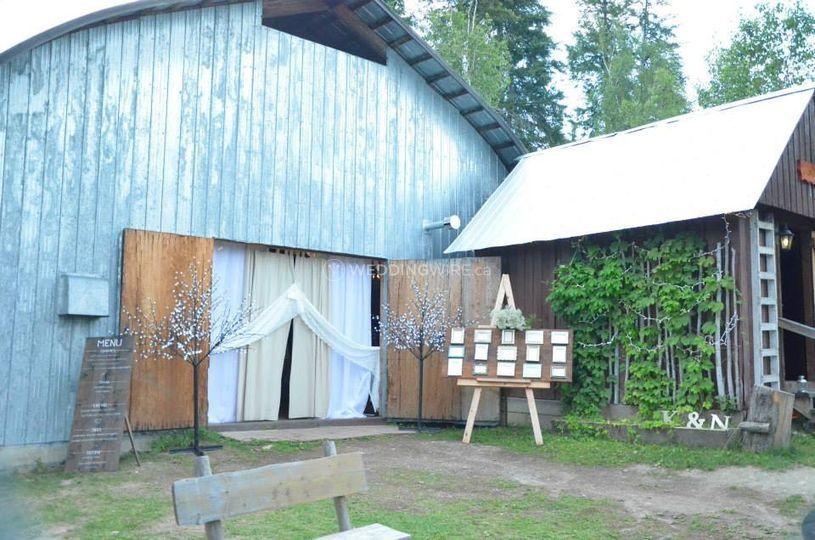 Golden, BC wedding lodge venue, rustic